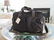 NWT BURBERRY PERFUMES MEN DUFFLE WEEKENDER GYM EVENING OVERNIGHT TRAVEL BAG !