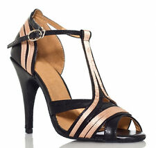 New Leather Ballroom Latin SALSA Bachata Tango Dance Shoes US6.5 3.5inch heels