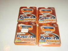 New Gillette Fusion Power Men's Razor Blade Refills 32 Count 5 Blade Shaving
