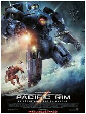 PACIFIC RIM Affiche Cinéma  ORIGINALE / Movie Poster Guillermo del Toro 53 x40