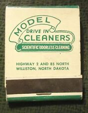 Matchbook - Model Drive In Cleaners Williston ND FULL