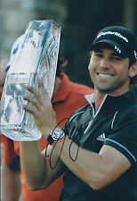 Sergio Garcia SIGNED Autograph 12x8 Photo AFTAL COA The Players Championship