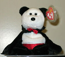Ty Beanie Baby ~ BARON VAN PYRE the Halloween Bear ~ MINT with MINT TAGS