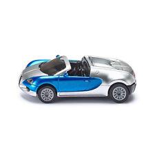 Siku 1353 Bugatti Veyron Grand Sport Cabrio silber/blau (Blister) NEU! °