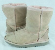 UGG Girls Classic Short Pink Winter Boots Size 12