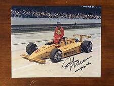 Rick Mears Signed Indy 500 Indianapolis 8 X 10 Photo Autographed 1984