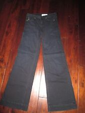 "WOMEN'S 28"" L LOFLI DARK DENIM NAVY JEANS * CUT 6179 * STRETCH *34"" INSEAM,FLARE"