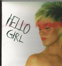 HELLO GIRL IN THE MOVIES 2 TRACK PROMO CD