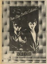 5/12/81PGN09 ADVERT: SOFT CELL NON-STOP EROTIC CABARET THE ALBUM 15X11