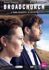 Broadchurch ITV TV Mystery Drama Series Complete Season 1 DVD Box Set Collection