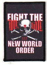 "FIGHT THE NEW WORLD ORDER""Aufnäher""Patch NWO/ILLUMINATI"