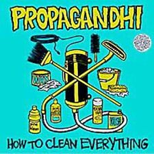 How to Clean Everything [PA] by Propagandhi (Punk Band) (CD, Aug-1993, Fat...
