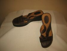 Boc Brown Leather Strappy Sandals Shoes Shoie Size 9/40.5 MW