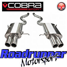 "BM60 Cobra M3 E92 Exhaust Stainless Steel Rear Box Section 2.5"" Rear Silencers"