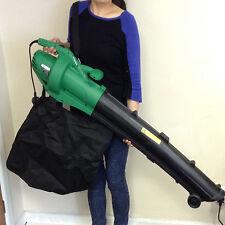 3 in 1 Electric Garden Leaf Blower 2500W Vacuum Shredder Mulcher Vac