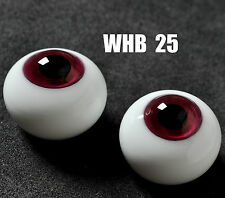 Nice 12MM Rose with Lines Glass BJD Eyes Outfit for Volks Luts BJD AOD DD Doll