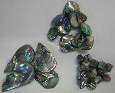 28 Pieces Shell Bead Cubes, Chunks,Drop Beads Silver For Jewellery Making TAR133