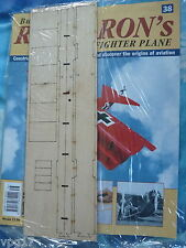 BUILD THE RED BARON'S FIGHTER PLANE FOKKER DR1  HACHETTE  ISSUE  38  NEW SEALED