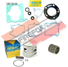 Honda CR125 2004 54mm Bore Mitaka Top End Rebuild Kit Inc Piston & Gaskets