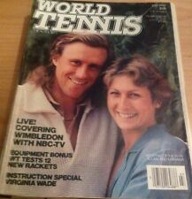 'World Tennis' US Tennis Magazine - July 1980 - Bjorn Borg - Wimbledon