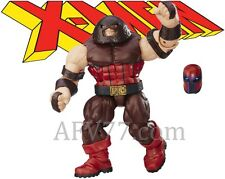 "Hasbro 2016 Marvel Legends 6"" X-Men JUGGERNAUT BAF + Magneto Onslaught Head"