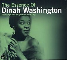 THE ESSENCE OF DINAH WASHINGTON - 2 CD BOX SET - 50 OF HER GREATEST RECORDINGS