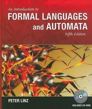 An Introduction to Formal Languages and Automata Peter Linz 5th ed h/c 2012 + CD