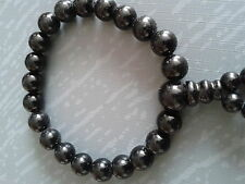Bracelet en jade boudhique, 1 rang, diamètre perles 8 mm, extensible.
