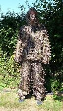 3D Leaf Hunting Ghillie Suit /LLCS Camoflague Suit/ Shooting, Stalking camo suit