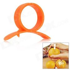 (2 Piece)ORANGE- LEMON-CITRUS-GRAPEFRUIT PEELER/ OPENER Handy Kitchen Craft Tool