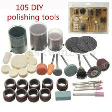 105Pcs Grinding Tools Accessory Bits Set 1/8'' For Dremel  Polishing Engraving