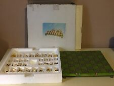 Chess Set Board & Pieces Paolo Chiari NIB~Sheep & Cows