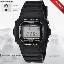 Casio DW5600E-1V Men's Sport Digital Watch G-Shock & 200 Meter Water Resistance