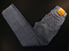 Vintage Levis 512 Women's Jeans 26 x 32 MEASURED Slim Fit Tapered Leg High Wast