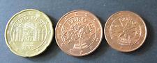 2, 5 + 20 Cent Euro Münze Österreich Prägejahr 2003 aus Umlauf Sammlerstück!
