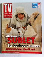 TV Magazine du 26/02/2012; Alessandra Sublet dit tout/ Claude François Junior