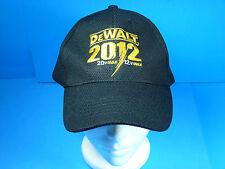 DeWalt 2012 Embroidered Logo 20v Max / 12v Max Cap Hat Velcro Adjustable