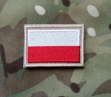 Polish ARMY FLAG POLAND  patch color 50x35