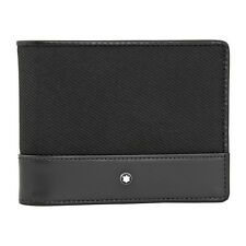 Montblanc Nightflight Wallet 4CC with Money Clip