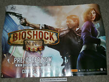 Used Official 2013 Bioshock Infinite Promo Pre-Order A2 Size Poster Landscape
