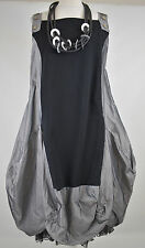 stunning LUUKAA  BLACK/GREY  parachute dress size  M/L