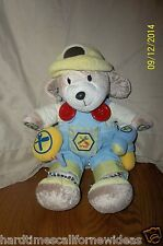 """Carters Carpenter Puppy Dog Interactive Music Tools Crinkle Plush 12"""""""