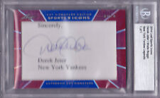 2014 Leaf Sports Icons Derek Jeter / Wade Boggs MASTERPIECE AUTO 1/1  Yankees!!!