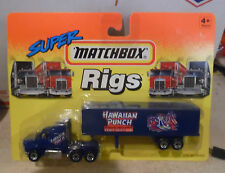 HO SCALE MATCHBOX SUPER RIGS HAWAIIAN PUNCH SEMI TRAILER