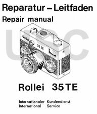 Rollei 35 TE Compact Service Manual on CD