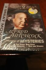 ALFRED HITCHCOCK - Montage of Mysteries (DVD Vintage Movie Classics) 3 MOVIES