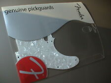 FENDER TELECASTER 8-HOLE PICKGUARD WHITE PEARL 099-2150-000 NEW!!