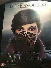 Dishonored 2 A1 Poster Release Day Poster