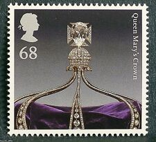 "The Crown Jewels ""Queen Mary`s Crown"" illustrated on 2011 Stamp - U/M"