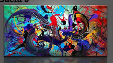 Large Hand-painted Modern Oil Painting Abstract Wall Art Hangings Decor Unframed